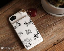 ディズニー/ハートコミックiPhoneケース6-8/SE ¥4,290