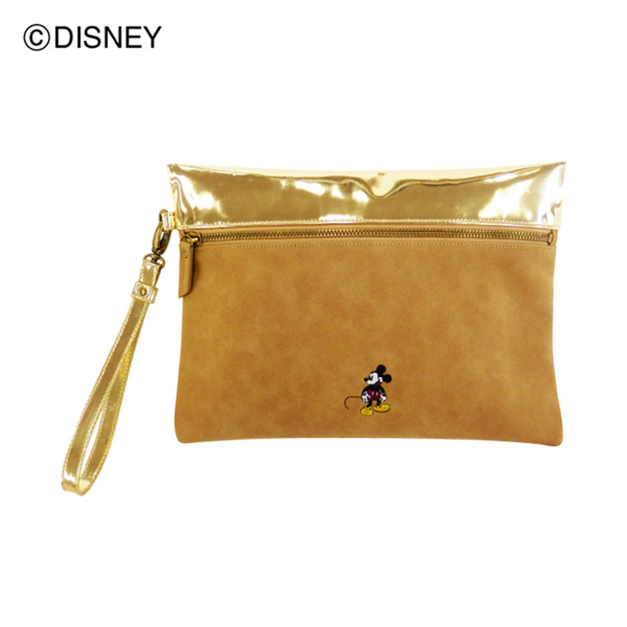 DISNEY COLLECTION<br>ミッキーマウス/メタリックコンビクラッチ