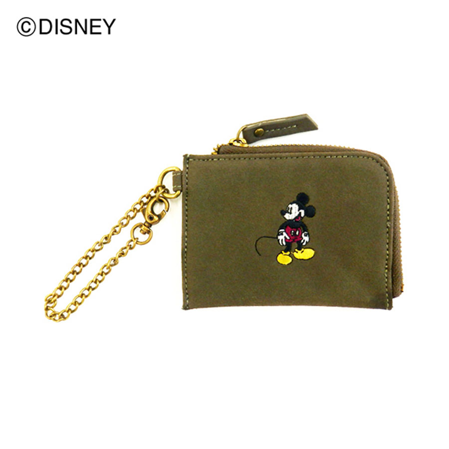 DISNEY COLLECTION<br>ミッキーマウス/メタリックコンビコインパース