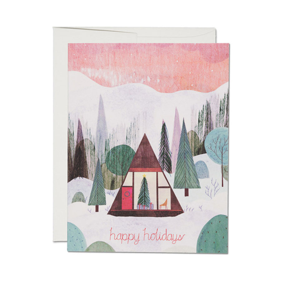 redcapcards<br>GREETING CARDS/箔なしタイプ<Christmas>